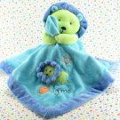 Carter's Just One Year Blue Lion Hug Me Security Blanket Lovey