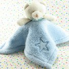 Little Mochi Blue Bear Security Blanket Lovey