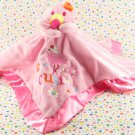 Sunshine Baby Pink Flamingo Security Blanket Lovey