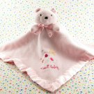 Carter's Pink Sweet Baby Bear Lovey Security Blanket