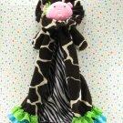 Mudpie Baby Lion Giraffe Security Blanket Lovey