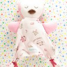 Vitamins Baby Owl Thumbie Security Blanket Lovey Pink Brown