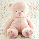 Burton + Burton Pink Teddy Bear Heart Feet Baby Toy Plush Lovey