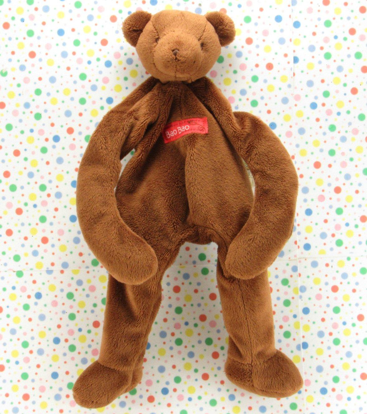 Bunnies by The Bay Silly Buddy Bao Bao  Bear Baby Toy Plush Lovey