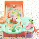 Littlest Pet Shop Teeniest TIniest On-The-Go Playset LPS Reptiles Compact