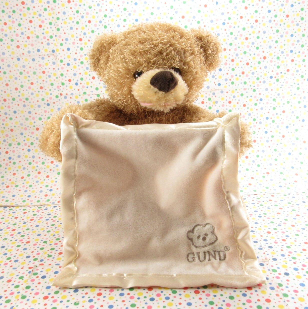 Gund Peek A Boo Bear English Version