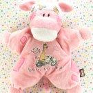 Harley Davidson Giraffe Rattle Baby Toy Plush Lovey
