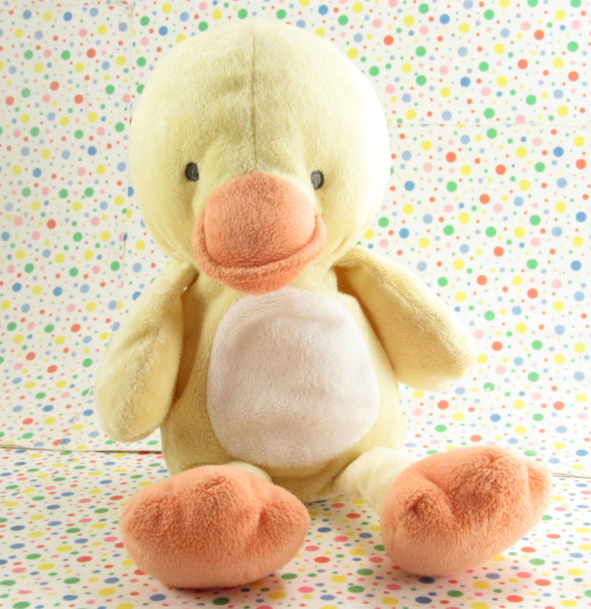 Carter's Duck Baby Toy Plush Lovey