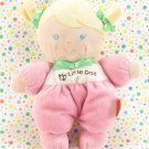Fisher Price My Little Doll Pink My First Doll Lovey Plush Toy SnugaMonkey