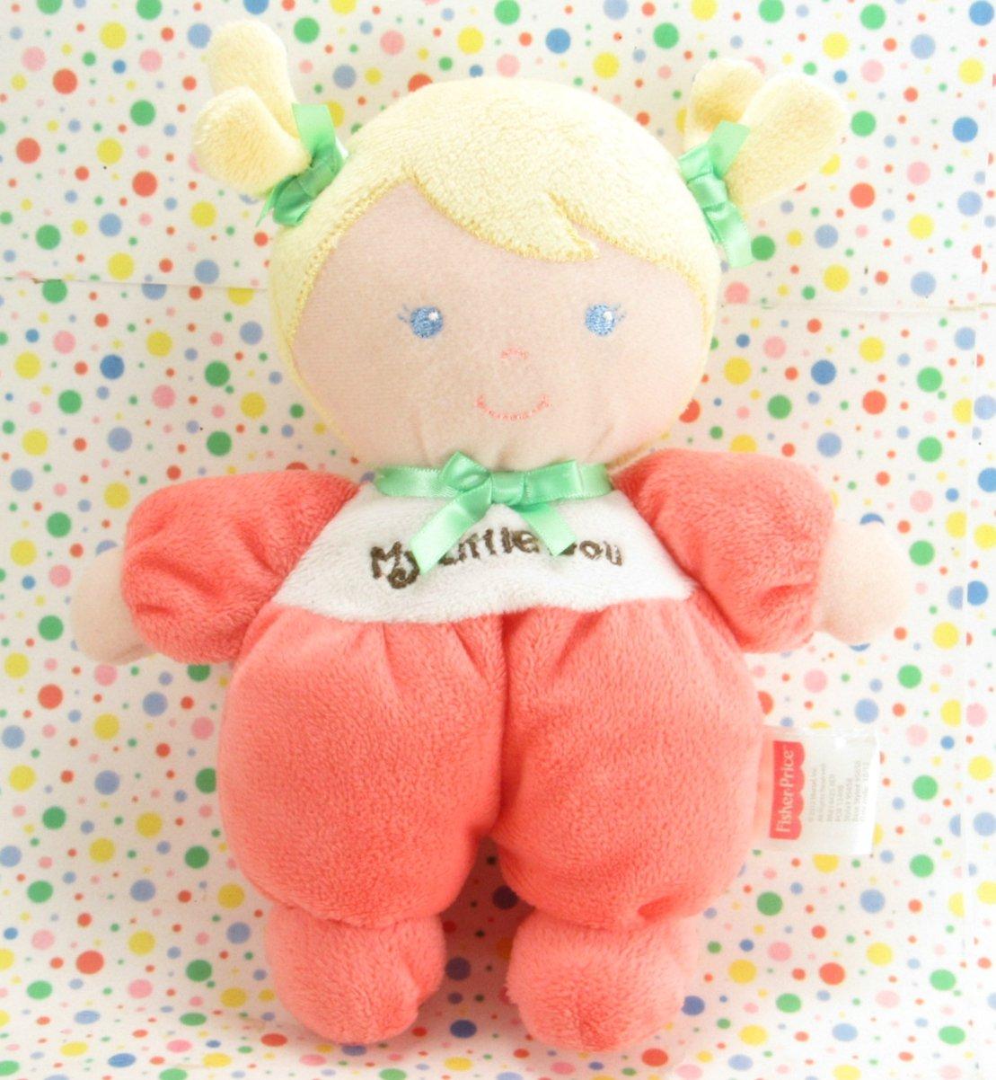 Fisher Price My Little Doll My First Doll Lovey Plush Toy  SnugaMonkey