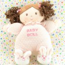 Especially For Baby Doll Rattle Bunny Slippers Pink Baby Doll Lovey
