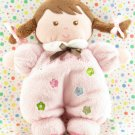 Carter's Child of Mine Doll Rattle Pink Baby Doll Lovey