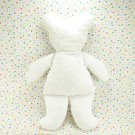 Baby Cottontail White Minky Dot Bear Plush Baby Lovie