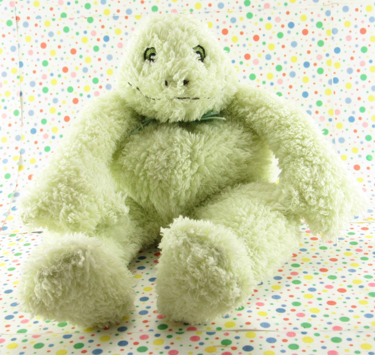 Bunnies By The Bay Frog Rattle Tadbit Baby Toy Plush Lovie