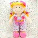 Okie Dokie Activity Doll Yellow Yarn Hair JCPenney Dress Me Doll