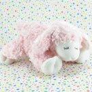 Baby Gund Winky Pink Lamb Rattle Lovey Gund 058131