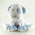 Floppy Kid's Preferred Blue White Puppy Allergy Free Baby Toy Plush Lovey
