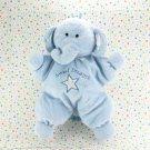Kids Preffered Blue Sweet Dreams Elephant Baby Toy Plush Lovey