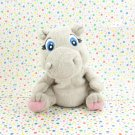 Garanimals Gray Hippo Baby Toy Plush Lovey