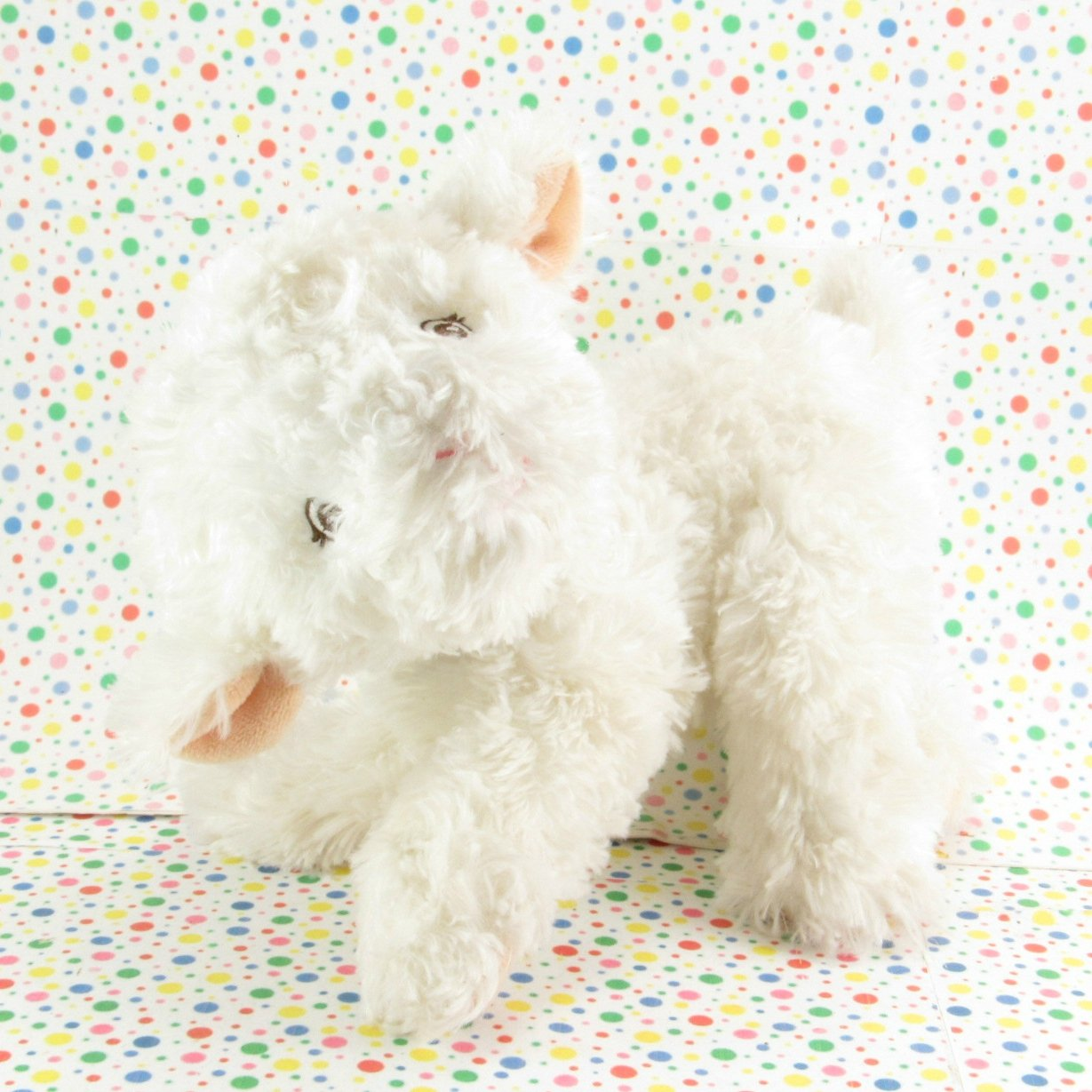 11/19*SOLD~  Garanimals White Lamb Baby Toy Plush Sheep Lovey