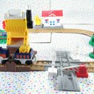 GeoTrax Cross Valley Junction Train Set Push Rail Road C1857
