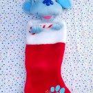 Blues Clues Christmas Stocking Stuffed 3D Santa Hat