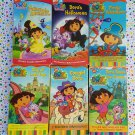 Dora The Explorer 6 VHS Videos Nick Jr. Lot