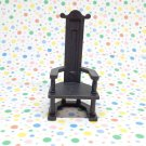 Playmobil Castle Black King's Throne Dining Chair Furniture 3274
