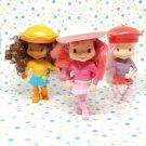 McDonald's Strawberry Shortcake 2007 Figurine Happy Meal Toy Lot