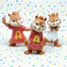 McDonald's Alvin and the Chipmunks Happy Meal Toy Lot