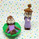 McDonald's Chipmunks Chipette Jeanette Happy Meal Toy Lot