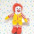 McDonald's Ty Beanie Ronald McDonald Happy Meal Toy Clown
