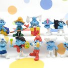 McDonalds Smurfs Figures 2011 Lot of 13