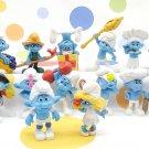 McDonalds Smurfs Figures 2011 Lot of 16