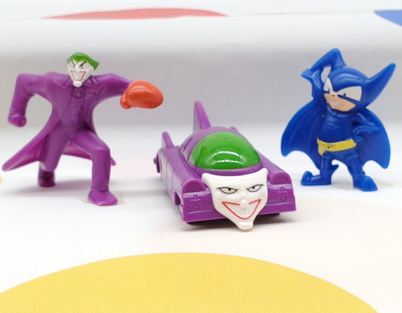 McDonalds Batman The Brave and The Bold Joker Bat-Mite Jokermobile