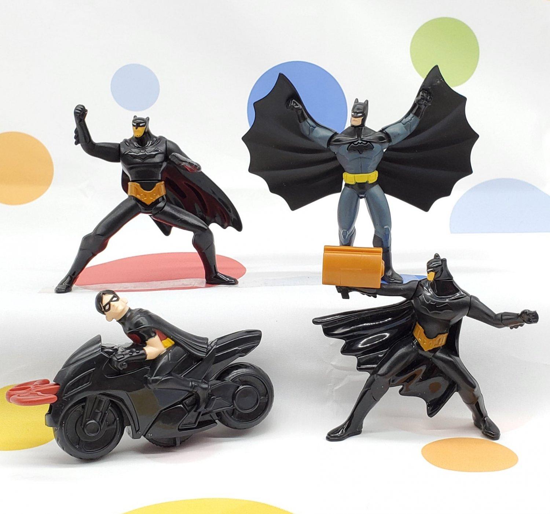 McDonalds Batman Beware The Batman Figures Lot 2013