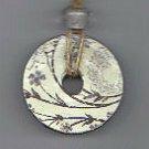 Antique Toile' Necklace