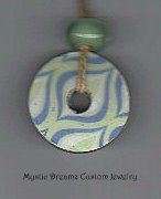 Blue Green Dreams Necklace