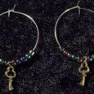 Secret Key Earrings