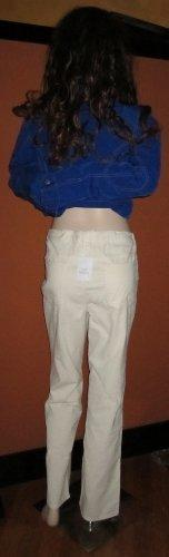 Victoria's Secret Winter White Christie Corduroy Jeans 14  247688