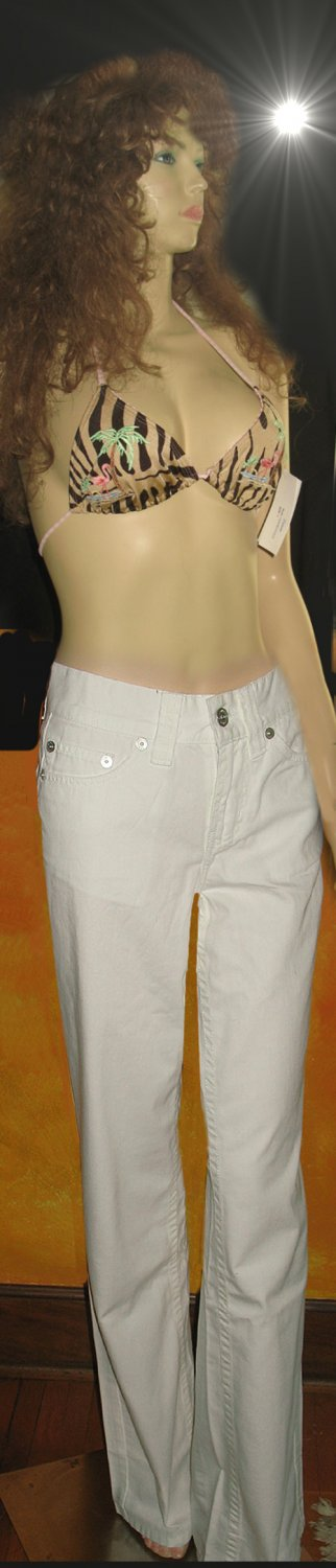 Victoria's Secret $60 Ultra Sexy White Jeans 2 192454
