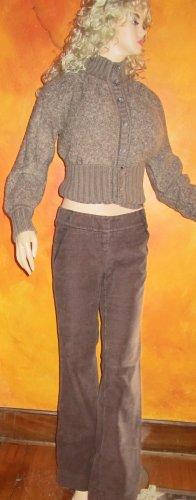 Victoria�s Secret $50 Marisa Fit Brown Corduroy Pants Jeans 2  186034