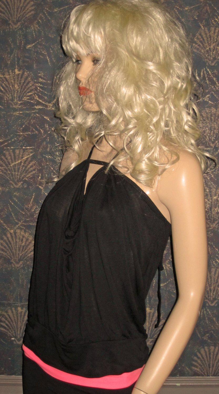Victoria's Secret $50 Sexy Black Halter Top Small  269913