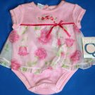 NWT Baby Q Baby Girls Sunsuit $32.99 Baby Girls Sundress 6-9 Months  984106