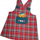 Disney $39 Baby's Red Christmas Pooh Jumper Dress 24 Months  648408