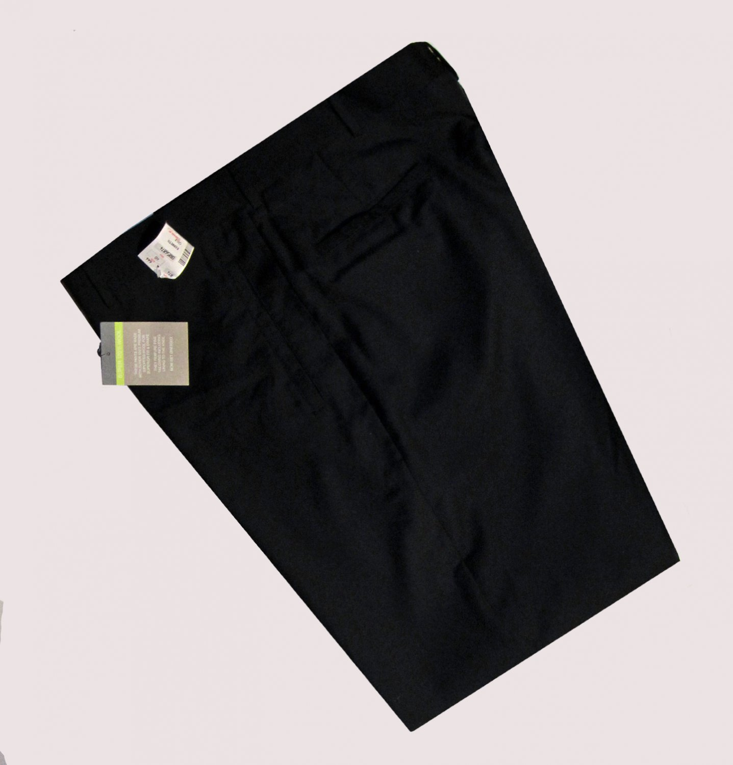 Kenneth Cole Reaction $135 Navy Blue Super 120's Wool Pants 40 32 kc0885