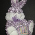 Dan Dee Collectors Choice Easter Bunny with Basket E331