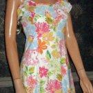 Ralph Lauren $65 Floral Print Sleeveless Dress Girls 16  113338