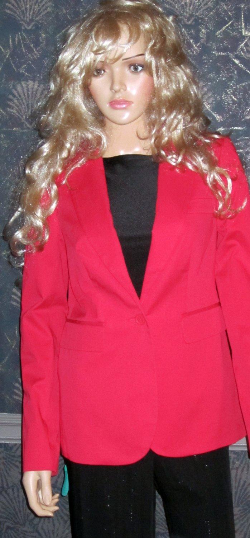 Victoria's Secret $110 Red Blazer Jacket 4 279614