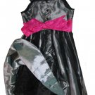 Jona Michelle $60 Girls Black Sequin Sleeveless Party Dress 8 9315